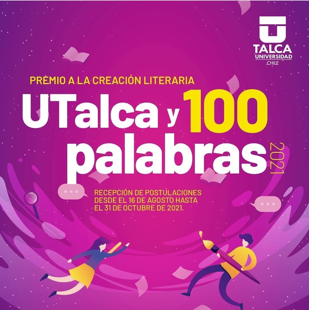 """Premio a la creación literaria """"UTalca y 100 palabras"""""""
