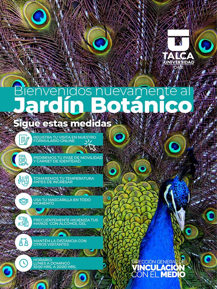 Apertura Jardín Botánico UTalca